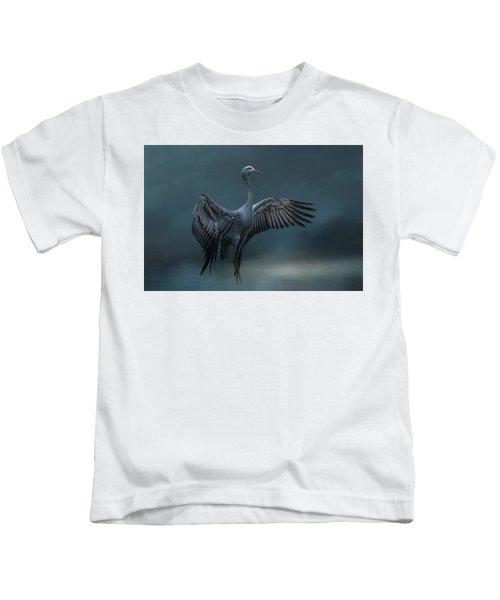 Graceful Dancer Kids T-Shirt