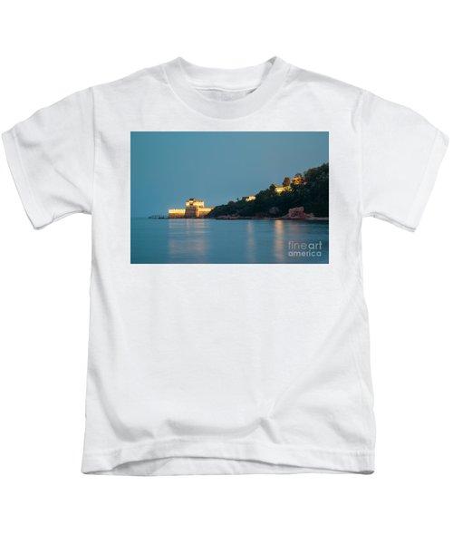 Great Wall At Night Kids T-Shirt