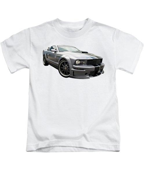 Grey Power - Cervini Mustang Kids T-Shirt