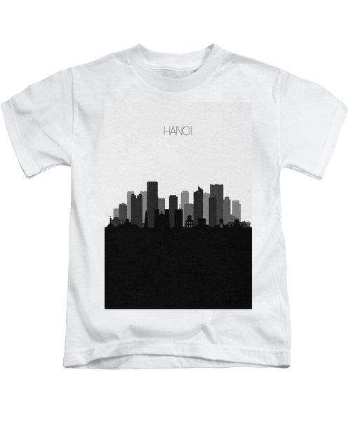 Hanoi Cityscape Art Kids T-Shirt