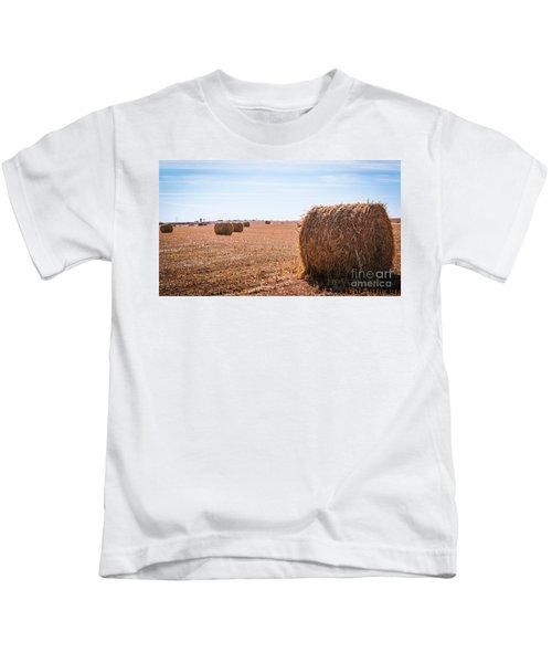 Hay Rolls Kids T-Shirt