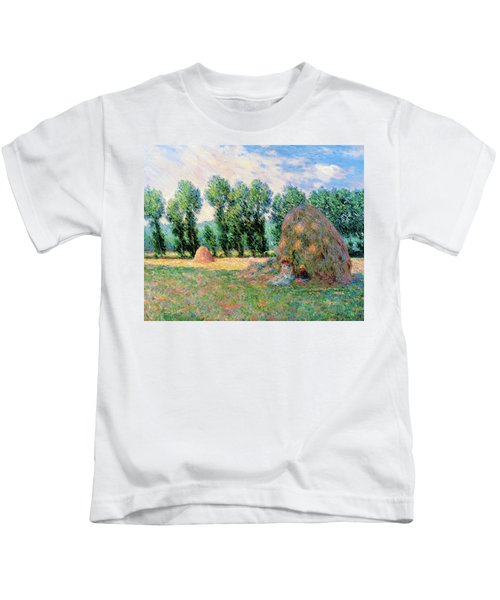 Haystacks - Digital Remastered Edition Kids T-Shirt
