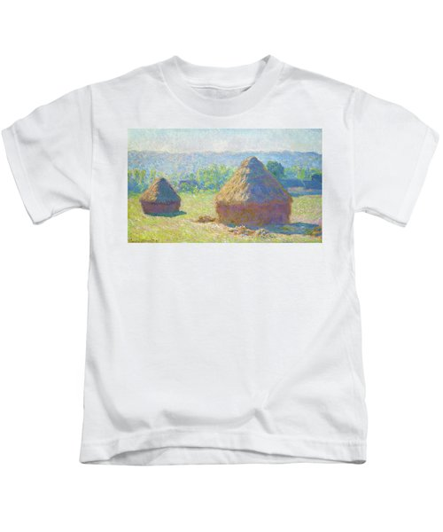 Haystacks, End Of Summer - Digital Remastered Edition Kids T-Shirt