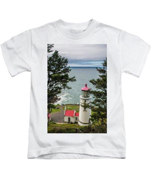 Heceta Head Lighthouse Kids T-Shirt