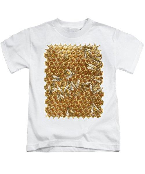 Honey Bees Kids T-Shirt