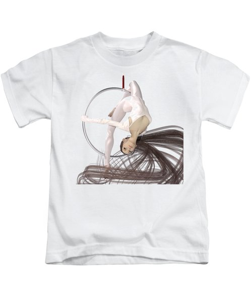 Hoop Dancing Spirit Kids T-Shirt