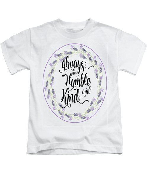 Humble And Kind Kids T-Shirt