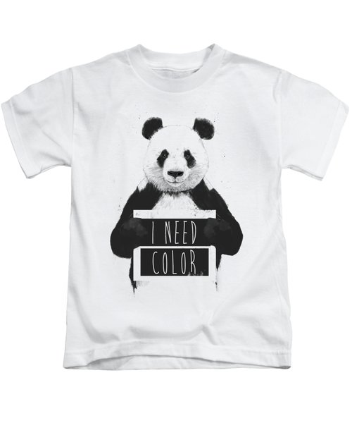 I Need Color Kids T-Shirt