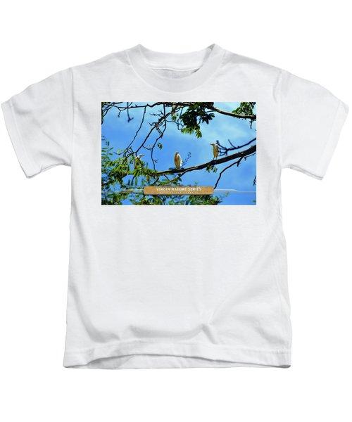 Ibis Perch - Virgin Nature Series Kids T-Shirt