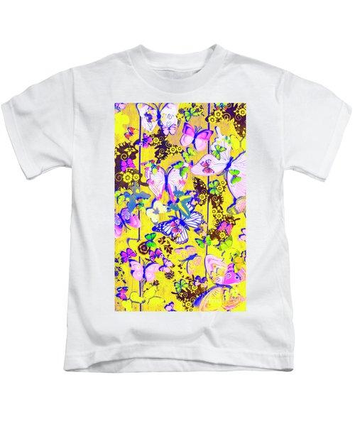 In Summer Sentiment Kids T-Shirt
