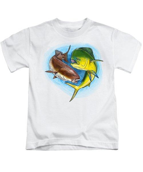 Inshore To Offshore Kids T-Shirt