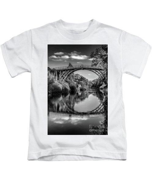 Iron Bridge Shropshire  Kids T-Shirt