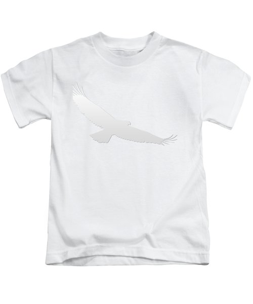 Isolated Bald Eagle 2018-3 Gradient Kids T-Shirt