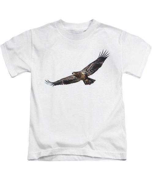 Isolated Bald Eagle 2018-3 Kids T-Shirt