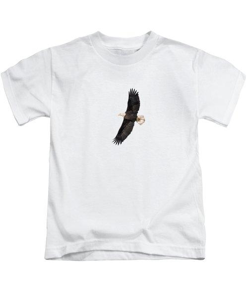 Isolated Bald Eagle 2018-5 Kids T-Shirt