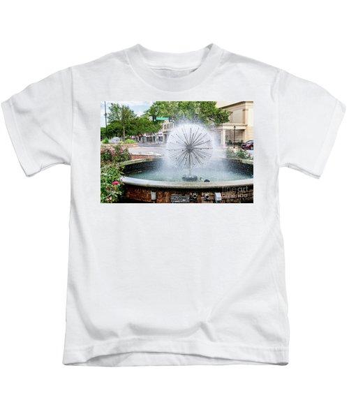 James Brown Blvd Fountain - Augusta Ga Kids T-Shirt