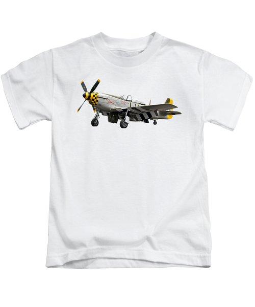 Janie P-51 Kids T-Shirt