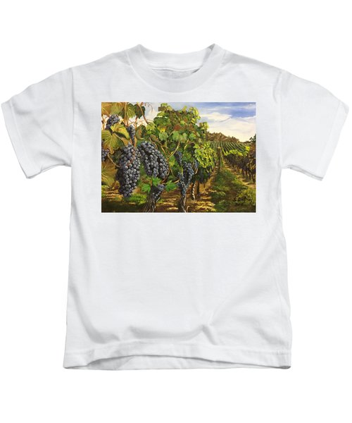 Jewels Of The Okanagan Kids T-Shirt