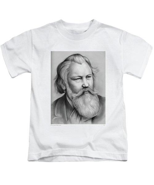 Johannes Brahms Kids T-Shirt