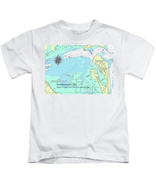 Joppa Flats Map Kids T-Shirt
