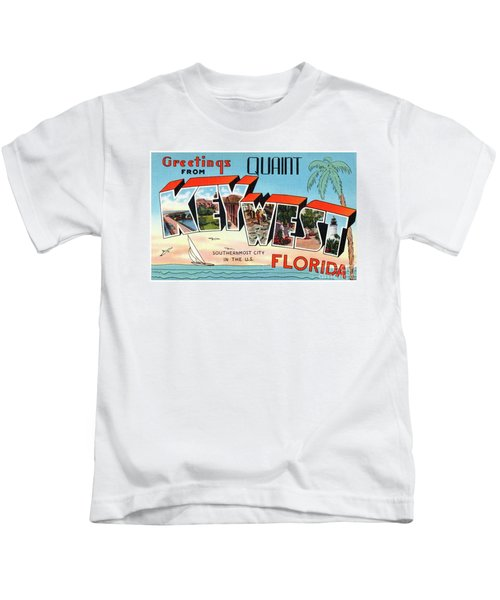 Key West Greetings Kids T-Shirt