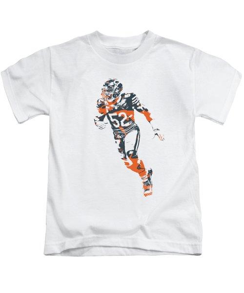 Khalil Mack Chicago Bears Apparel T Shirt Pixel Art 2 Kids T-Shirt