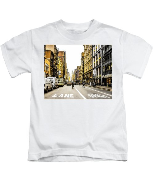 Lane Only  Kids T-Shirt