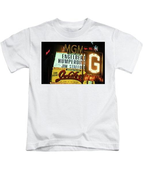 Las Vegas 1984 #3 Kids T-Shirt