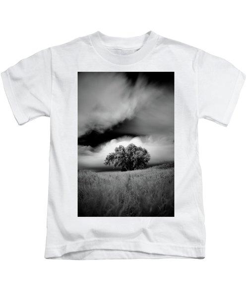 Lone Tree On A Hill Kids T-Shirt