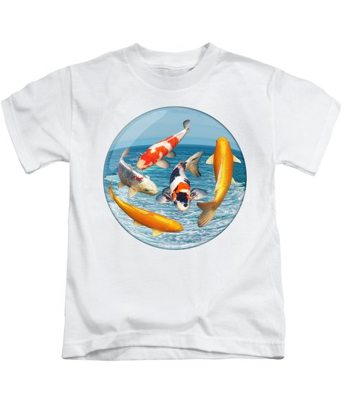 Lost In A Daydream - Fish Out Of Water Kids T-Shirt