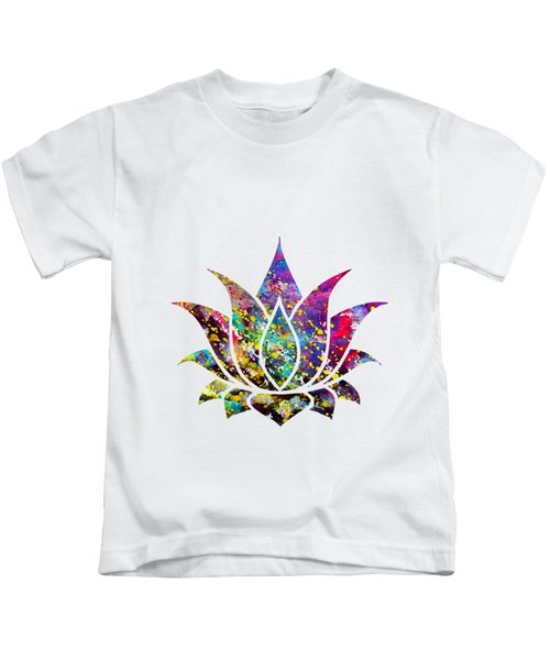 Lotus-colorful Kids T-Shirt