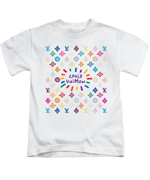 Louis Vuitton Monogram-10 Kids T-Shirt