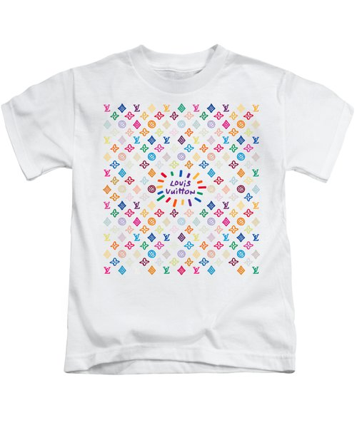 Louis Vuitton Monogram-12 Kids T-Shirt