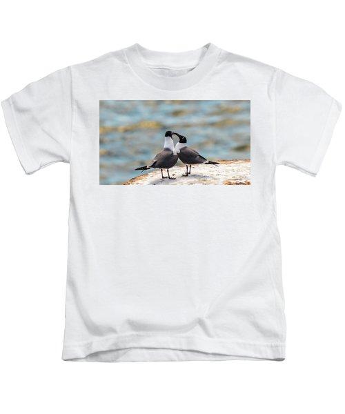 Love Birds Kids T-Shirt