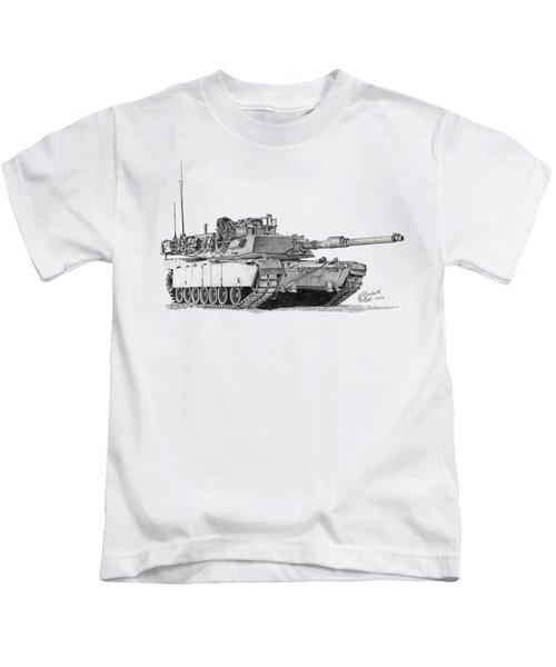 M1a1 Tank Kids T-Shirt