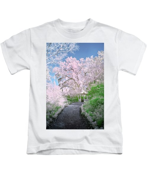 Magnolia Gazebo  Kids T-Shirt