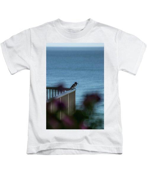 Magpie Bird Kids T-Shirt