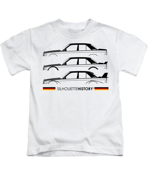 Mercy Family Sport Silhouettehistory Kids T-Shirt