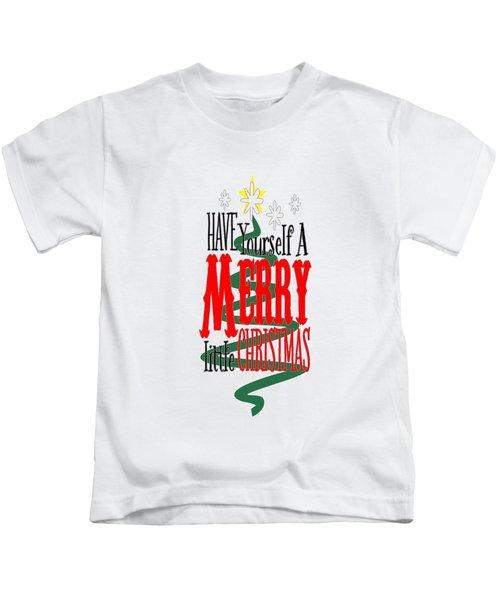 Merry Little Christmas Kids T-Shirt