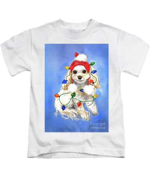 Mocha Merry And Bright Kids T-Shirt