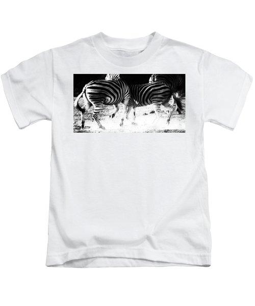 Monochrome Motion Kids T-Shirt