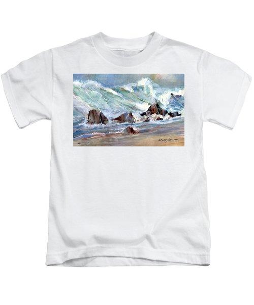 Monster Waves Kids T-Shirt
