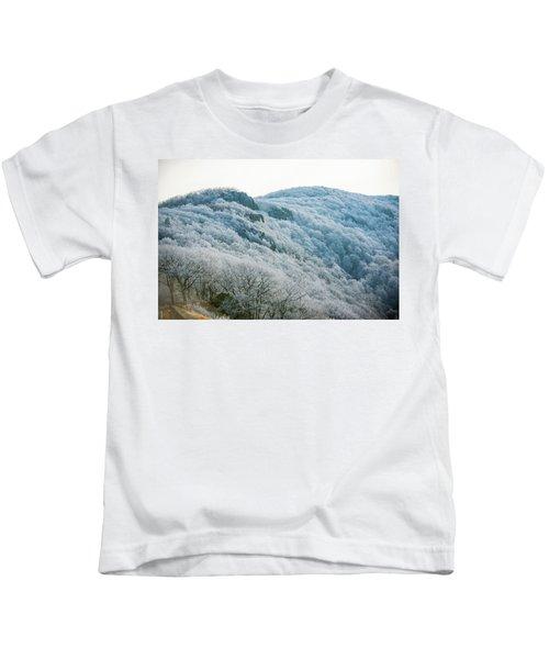 Mountainside Hoarfrost Kids T-Shirt
