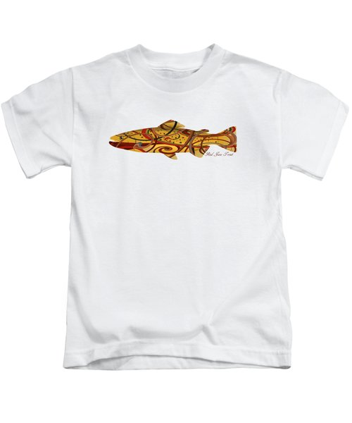 Mystic Trout- Red Jaw Trout Kids T-Shirt