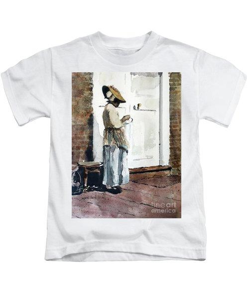 Needle Point Kids T-Shirt