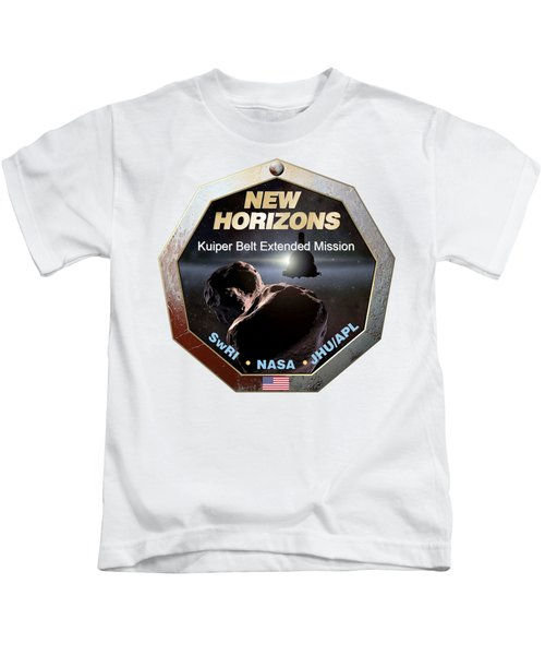 New Horizons Extended Mission Logo Kids T-Shirt