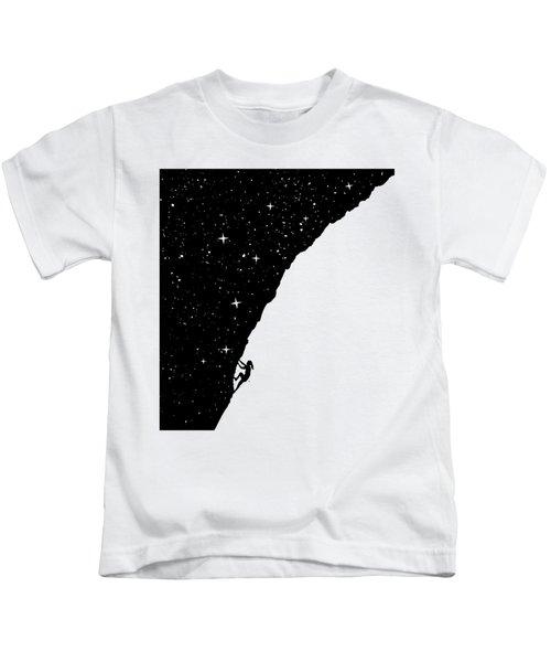 Night Climbing Kids T-Shirt