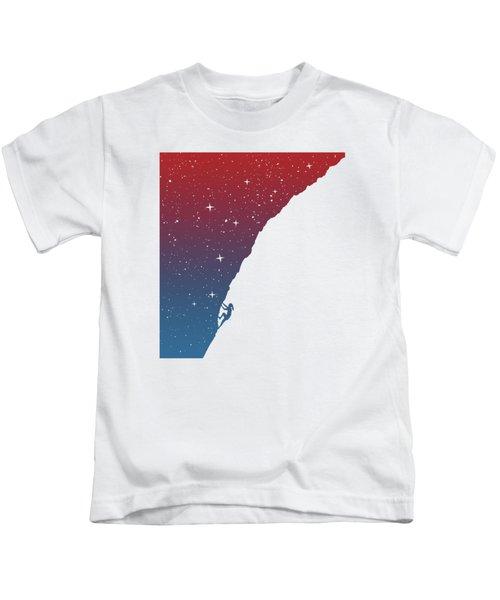 Night Climbing II Kids T-Shirt