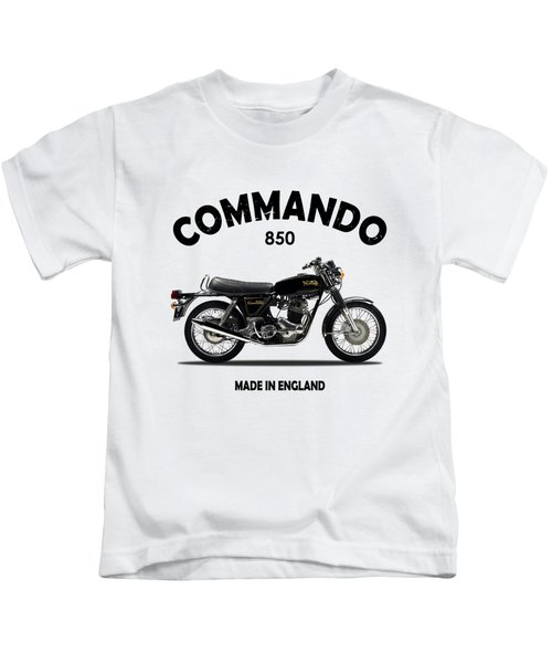 Norton Commando 1974 Kids T-Shirt