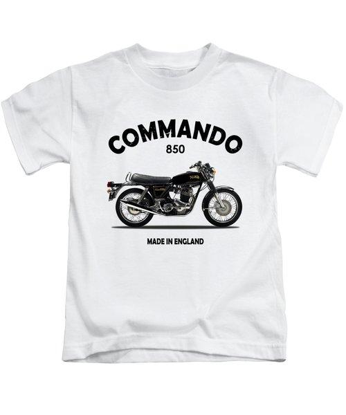 Norton Commando 1974 Kids T-Shirt